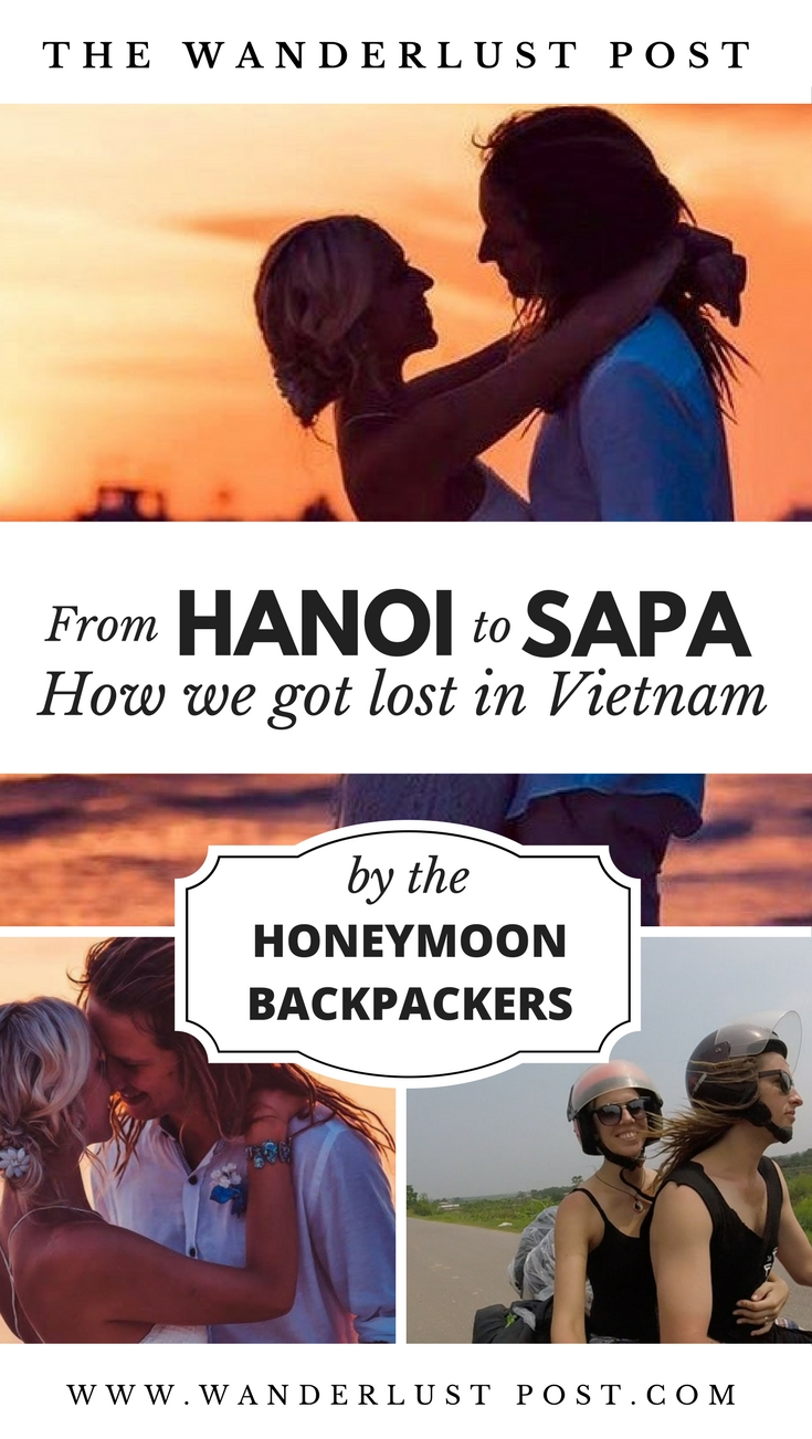 The Honeymoon Backpackers have been travelling ever since they got married on a beach. They just didn't want to go home. While travelling in Vietnam they set off from Hanoi to Sapa on Betty their motorbike, however, things didn't turn out how they'd expected... Read part 2 of The Honeymoon Backpacker's story now on The Wanderlust Post - @honeymoonbackpackers
