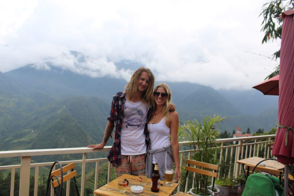 Lost in rural Vietnam the Honeymoon Backpackers