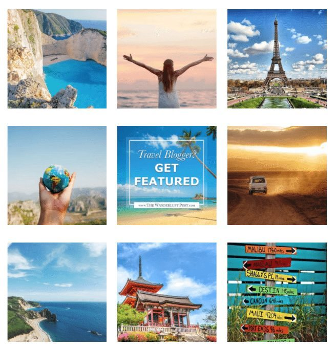 Top UK Travel Blog on Instagram
