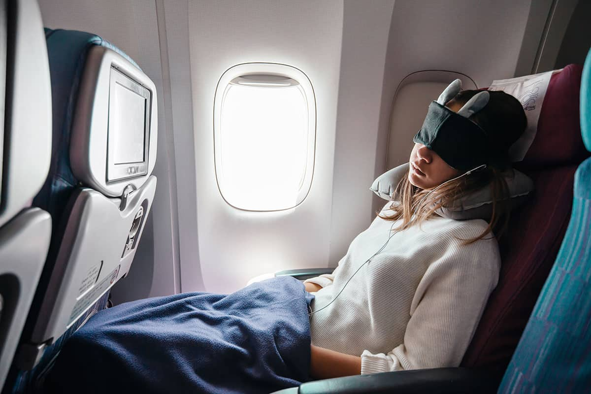 travel blanket for airplanes cars naps
