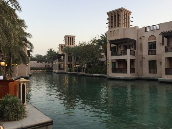 Waterways at the Madinat Jumeriah, Dubai