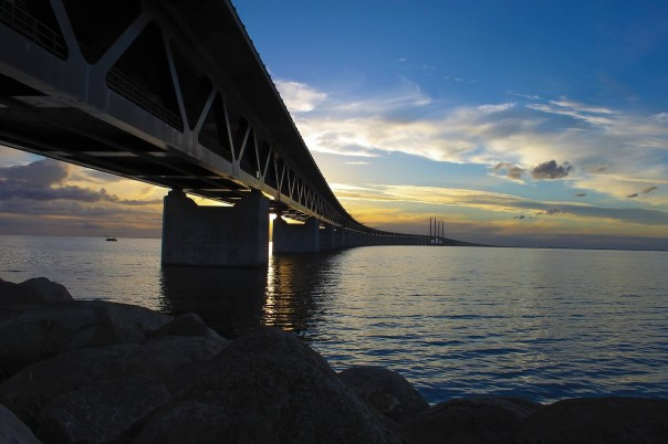Öresund Bridge, Denmark and Copenhagen