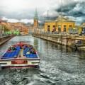 Boat tour in Copenhagen, Denmark