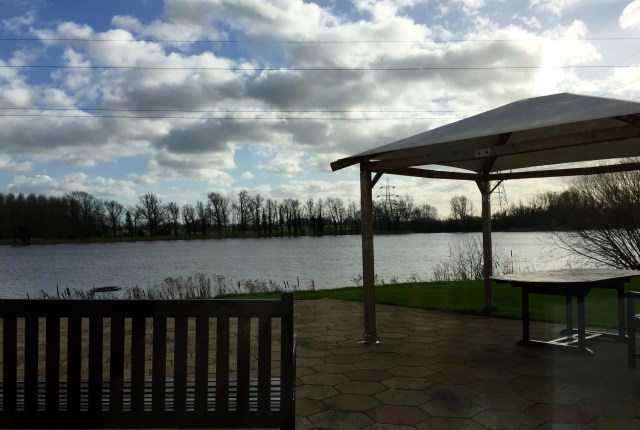 The lake at Y Spa Wyboston