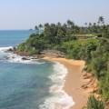 Beach in Weligama, Sri Lanka