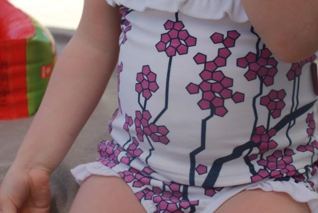 Trespass Girls Karis Floral Swim Set