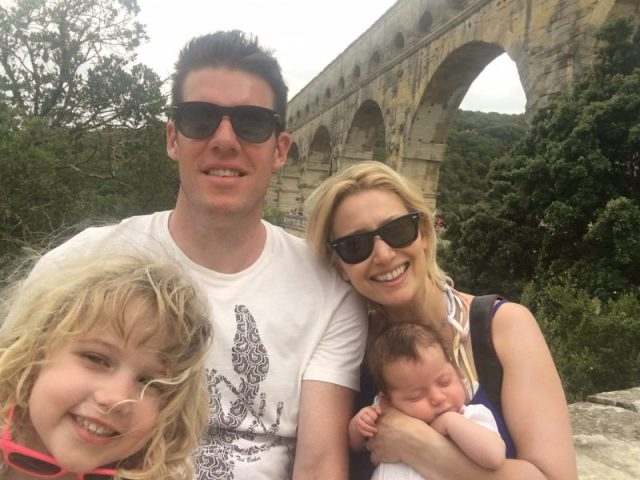 Travel with a baby: Wander Mum and family at the Pont du Gard, France