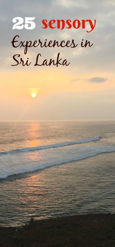 25 Sensory Experience in Sri Lanka