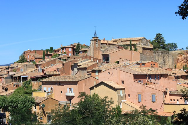 Roussillon, Luberon, France