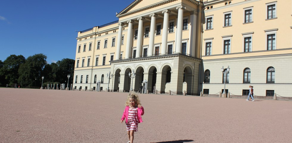 The Royal Palace, Oslo, Norway