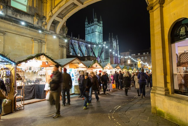 Bath Christmas Market (Visit Bath)