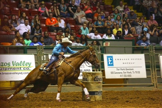 Stock Yards Championship rodeo, Fort Worth, Texas