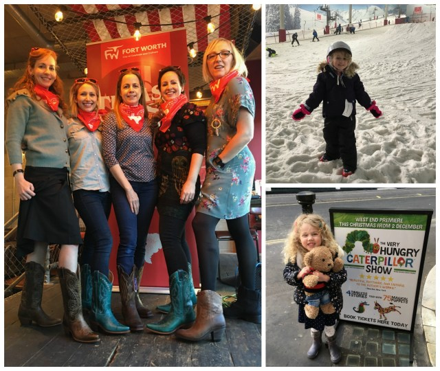 Wander Mum's week: blogger lunch, ski lesson, Hungry Caterpillar