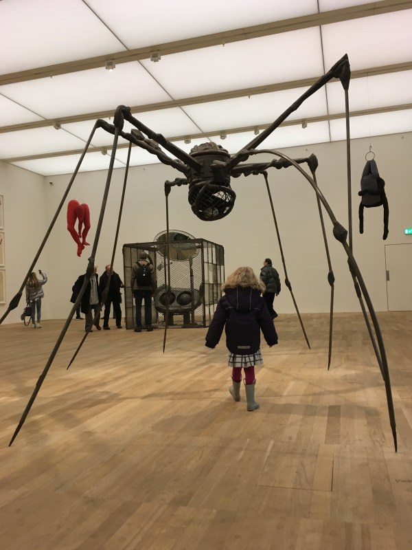 Louise Bourgeois spider at Tate Modern