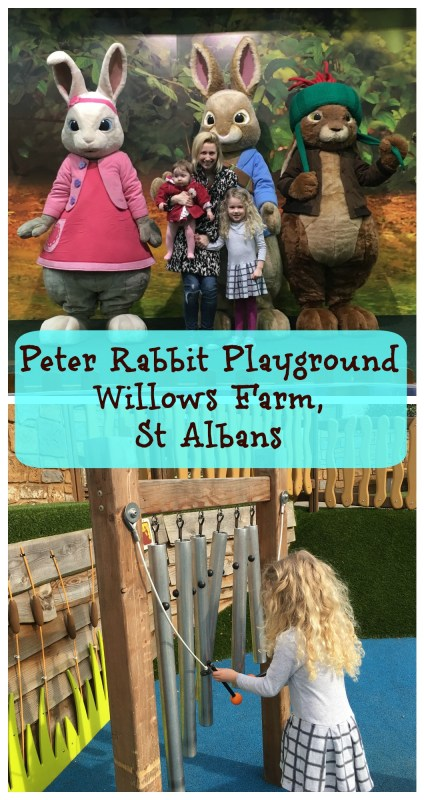 The world's only Peter Rabbit Adventure Playground at Willows Activity Farm near London