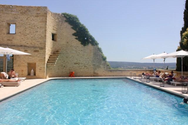 Le Vieux Castillon, swimming pool, Provence, France