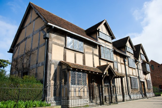Shakespeare's Birth Place, Stratford-Upon_Avon