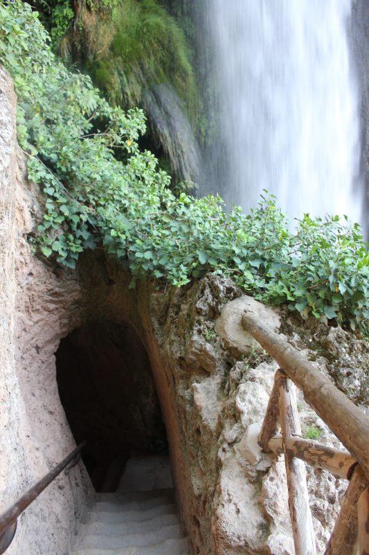 Piedra Monastery Gardens, Horse tail waterfall