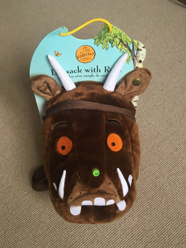 Gruffalo Littlelife day pack for toddlers