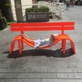 Modified Social Benches, Jeppe Hein, South Bank Centre, London