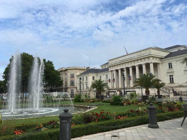 Palais de Justice, Tours, France