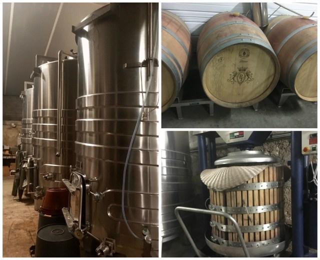 La Tourbeille winery, France
