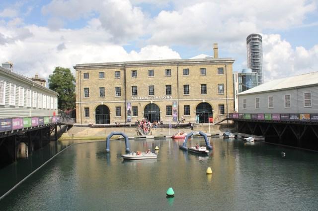 Action Stations, Portsmouth Historic Dockyard