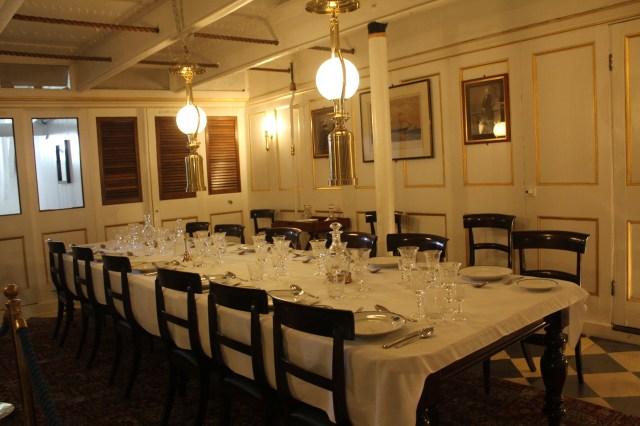 HMS Warrior, dining room