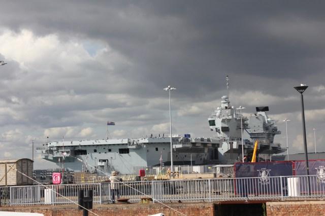 HMS Queen Elizabeth aircraft carrier, Portsmouth