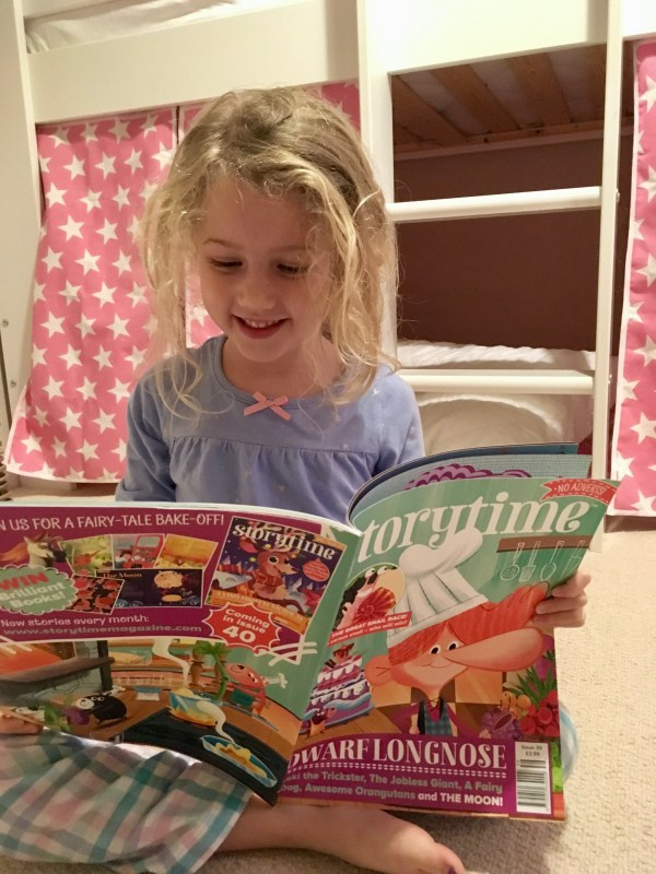 Mrs T reading Storytime