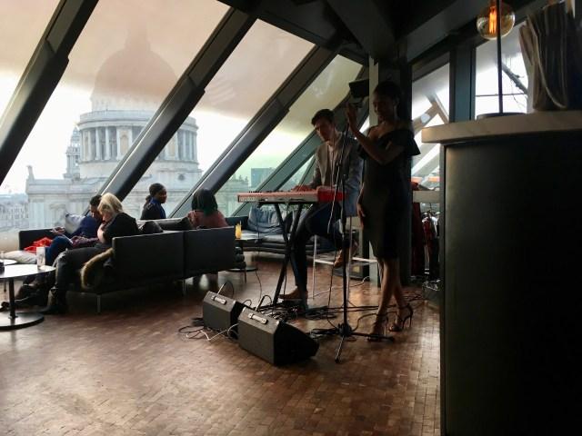 Madisons restaurant and bar, London
