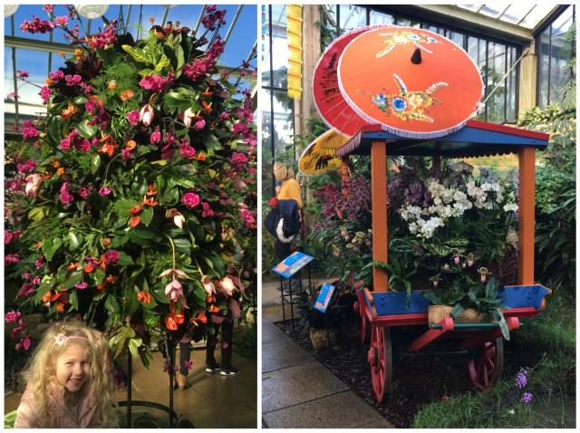 Thai cart, Orchid Festival, Kew Gardens