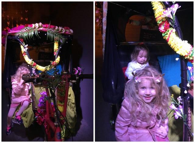 Rickshaw, Orchid Festival Kew Gardens