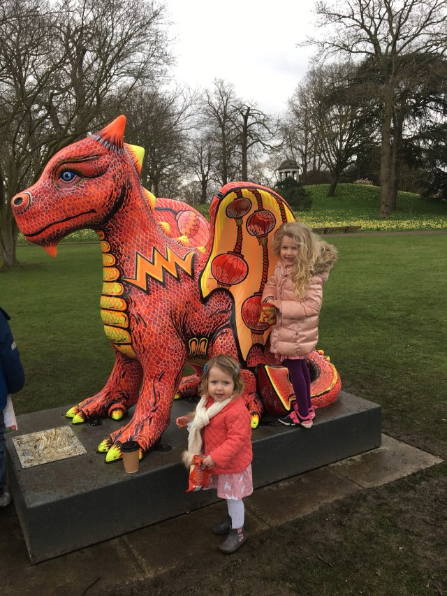 Kew Gardens dragon trail