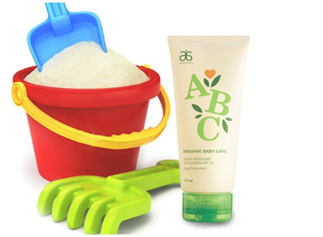 Crème solaire vegan pour enfants Arbonne