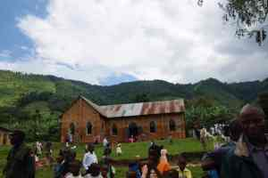 A church at Bwindi