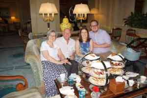 Afternoon Tea at the Four Seasons Doha