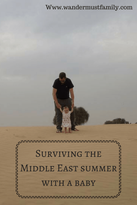 Surviving the Middle East summer with a baby