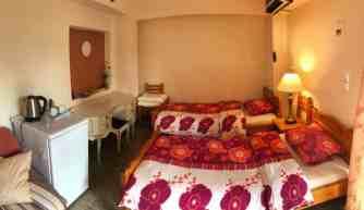 Corfu-Trail - km 64 - Etappe 4 - Übernachtung in Dafnáta - Costas Bar - Zimmer 1
