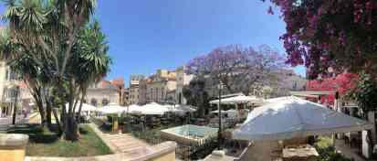 Korfu-Stadt - UNESCO-Weltkultur-Erbe und hübsches urbanes Zentrum der Insel