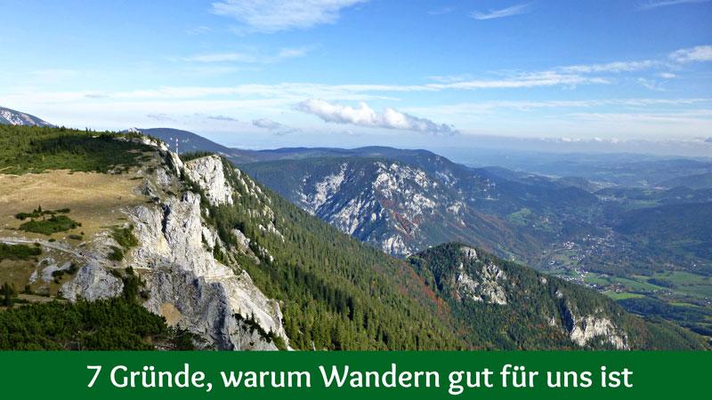 Wandern Motivation Bewegung Natur
