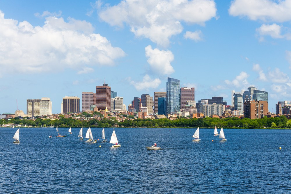 Visit Boston from the Charles River
