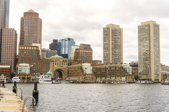 One of the best things to do in Boston is to walk along the Harbor Walk.
