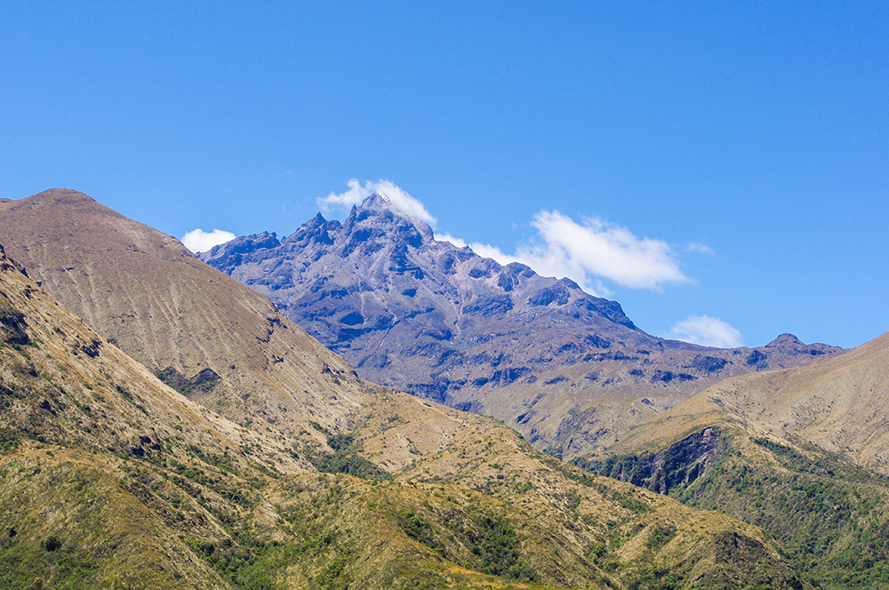 Cotacachi Volcano from Laguna Cuicocha