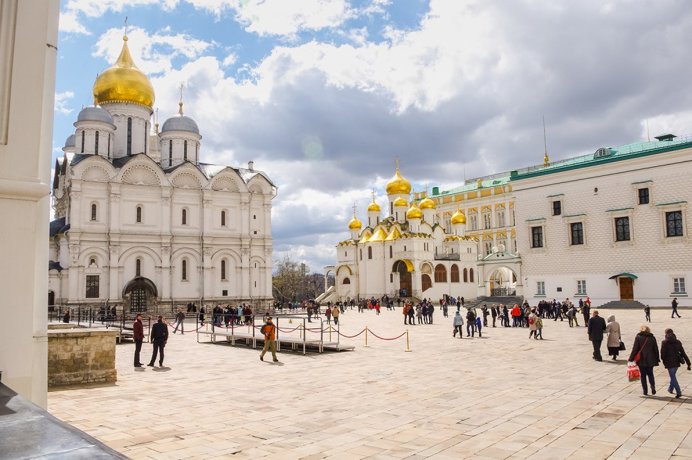 Photo inside Moscow's Kremlin