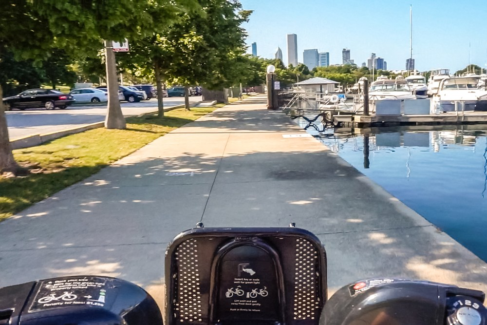 Relax along the Lake Michigan shore
