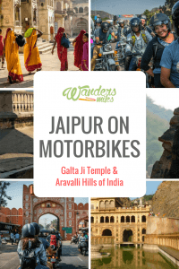 Image of Jaipur on motorbikes guide