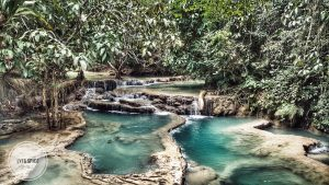Kuang Si Falls photographed by Lyf&Spice