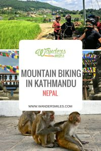 Read about Mountain biking in Kathmandu Valley in Nepal