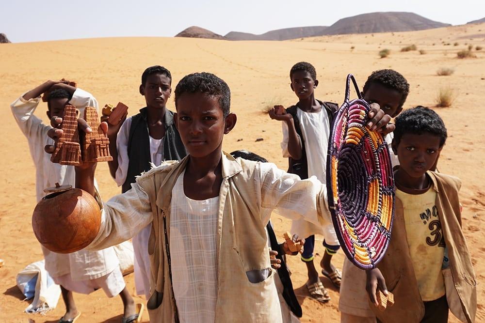 The forgotten pyramids of Meroë // Sudan